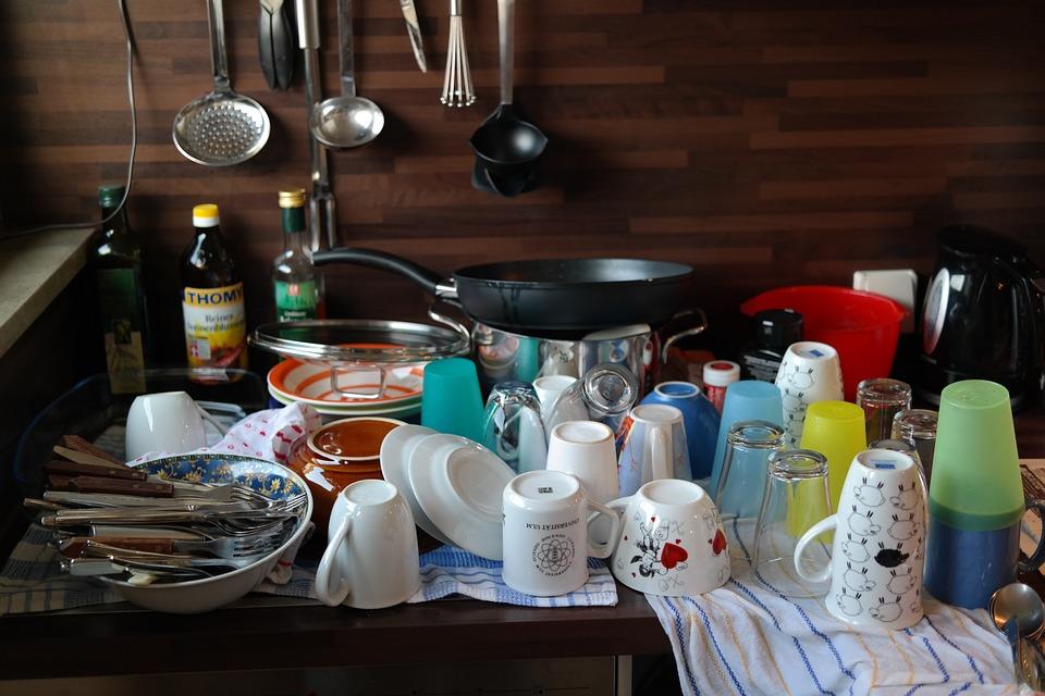 食洗器 洗い物 画像