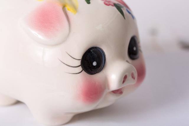 豚さん貯金箱