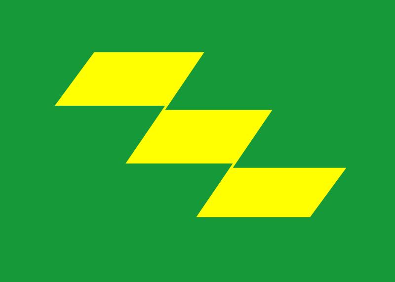 宮崎県 県旗 画像