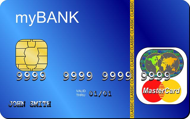 銀行カード 画像