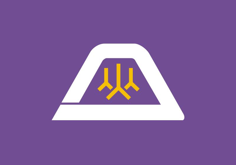 山梨県 県旗 画像
