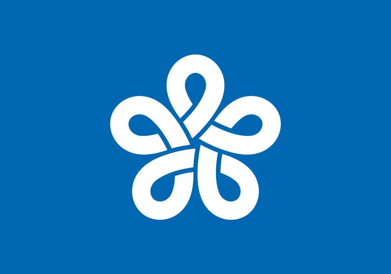 福岡県 県旗 画像